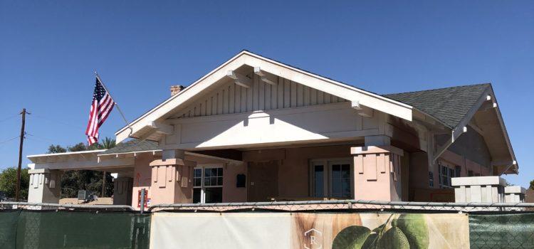 Project Update #rafterhousebungalow